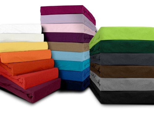 spannbettuch 180x200 weiss spannbettuch 180x200m. Black Bedroom Furniture Sets. Home Design Ideas