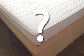 Die Frage bei einem neuen Bett lautet: Welche Matratze kaufe ich dazu?
